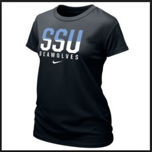 Nike SSU Seawolves Top Sonoma State University